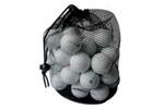 Golfballen in netje