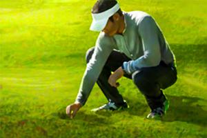 Niet hoeven melden als u een golfbal wilt identificeren
